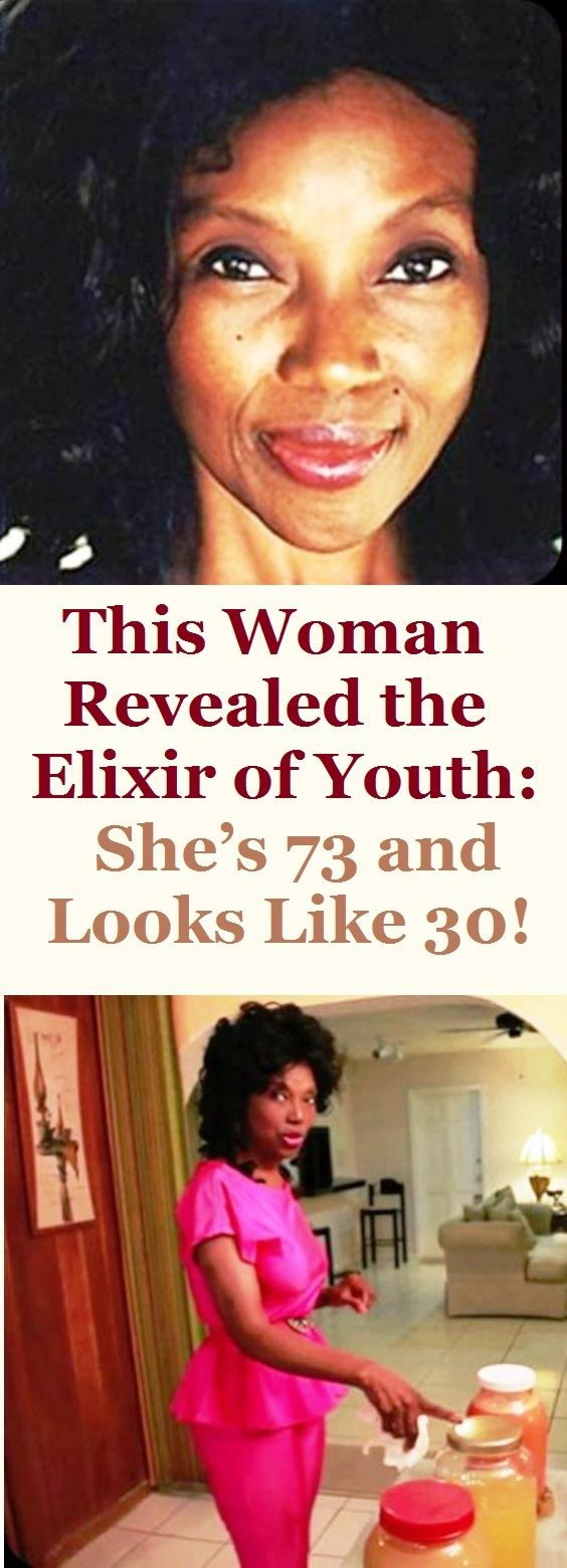 THIS WOMAN REVEALED THE ELIXIR OF YOUTH: SHE'S 73 AND LOOKS LIKE 30! There isn't a person in the world that does not want to stay young, and even though it seems impossible no matter what treatment you choose to use, surgical or chemical, there is a lady who succeeded in this.