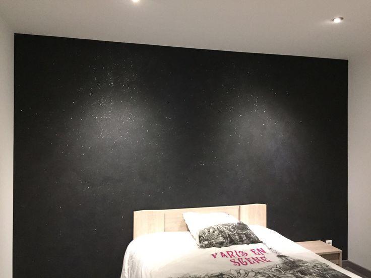 best chambre mur noir paillete photos yourmentor info - Chambre Mur Noir Paillete