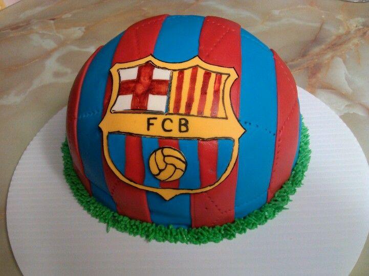 Futbol Club Barcelona cake
