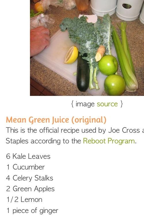 Original Mean Green Juice