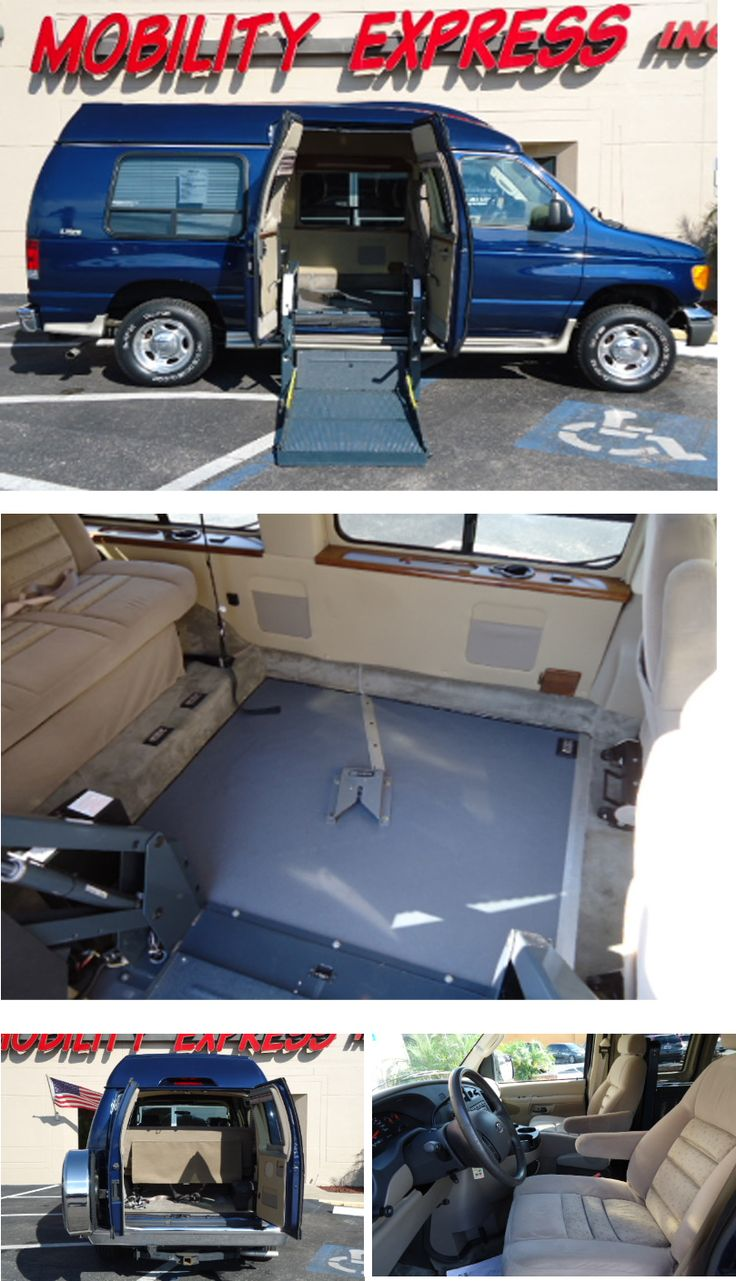 wheelchair handicappedvan modification of a ford e150 model year 2007 ricon