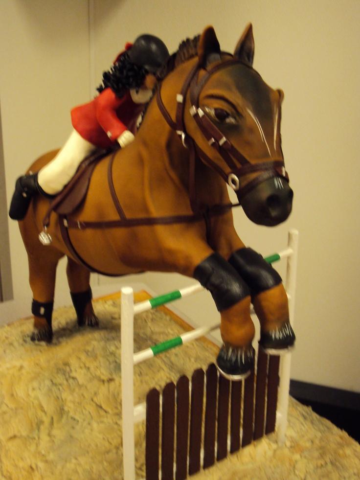 Horse Jump Cake Ideas
