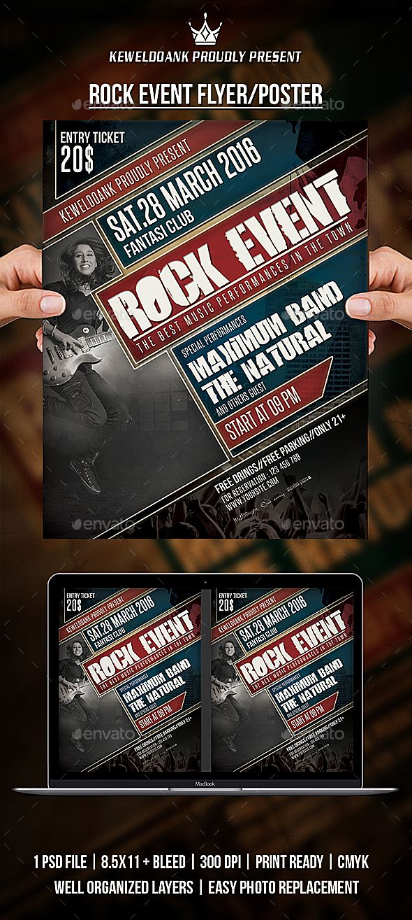 Rock Event Flyer / Poster