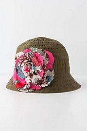 Hothouse Bucket Hat    anthropologie.com