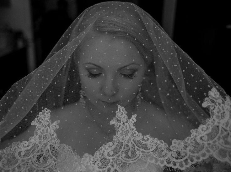 Фата свадебная с кружевом, длинная - http://elenmary.io.ua/album733539
