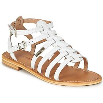 The classic gladiator sandal in white leather from Les Tropeziennes, free delivery on @spartoouk ! #white #shoes #sandals #summer #sale