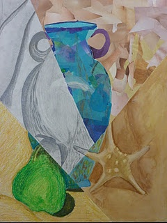 Multimedia Still Life- grade 7