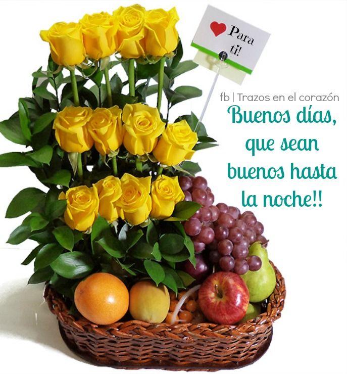 Buenos días, que sean buenos hasta la noche!! @trazosenelcorazon
