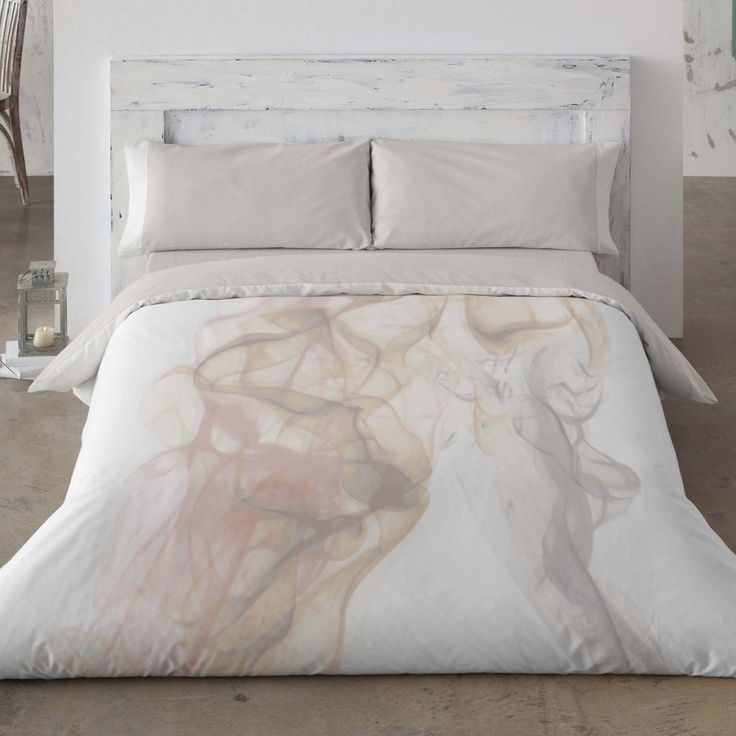 Duvet cover. Marble. Bedroom. Bed. Decor. Beige. Style.