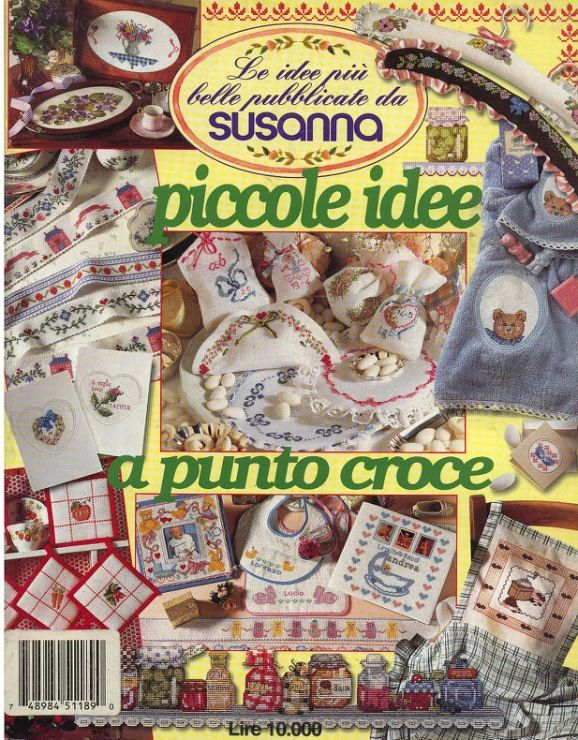 Gallery.ru / АРХИВ ПО ССЫЛКЕ - Susanna Piccole Idee a Punto Croce + ССЫЛКА - Mosca