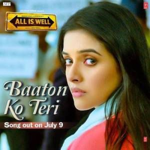 BATTON KO TERI CHORDS FROM THE MOVIE ALL IS WELL....JUST LEARN THE WHOLE SONG SIMPLY BY CLICKING ON THE LINK: http://musicterrene.com/2015/08/29/baaton-ko-teri-chords/