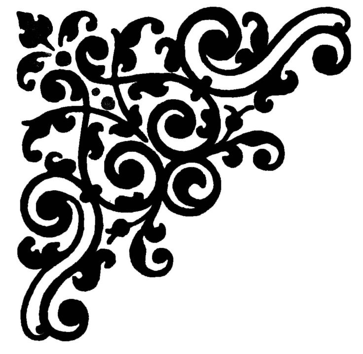 Black and White Design Images | Design, Grasp The Grandeur of Black and White Damask: Image White ...