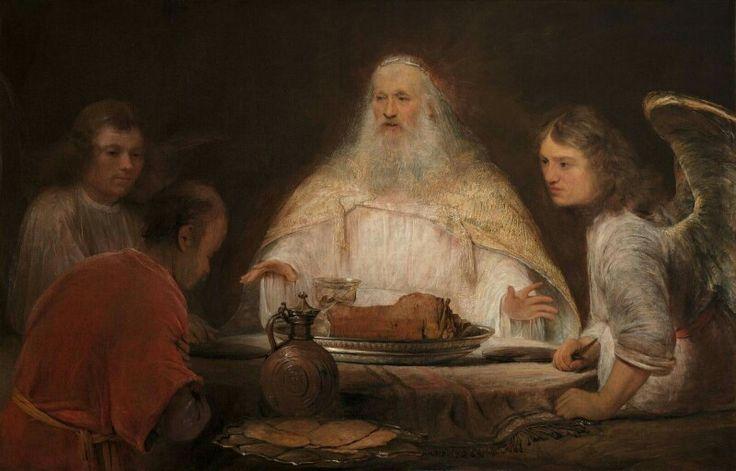 Aert de Gelder, Abraham and the Angels