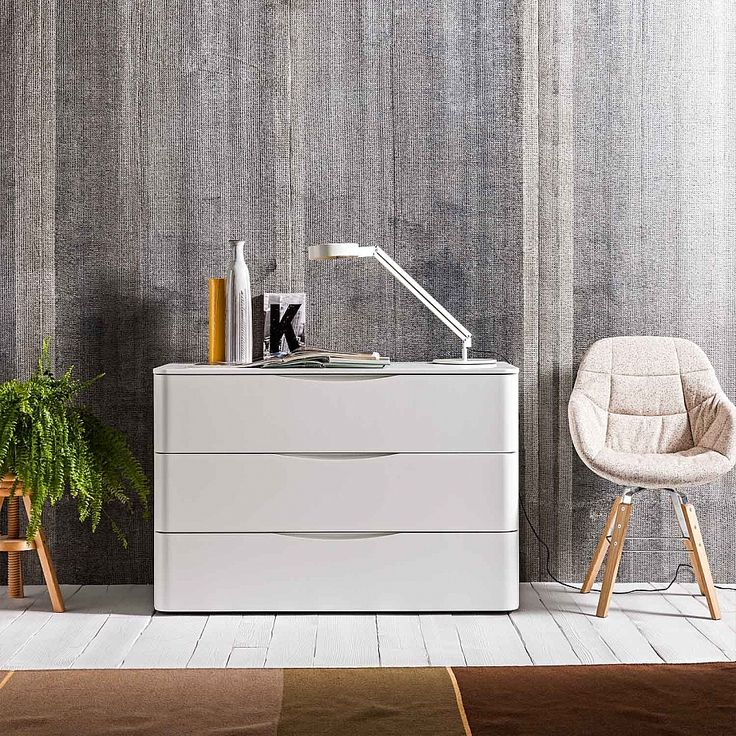 Modern luxury wide chest of drawers Moby by Morassutti