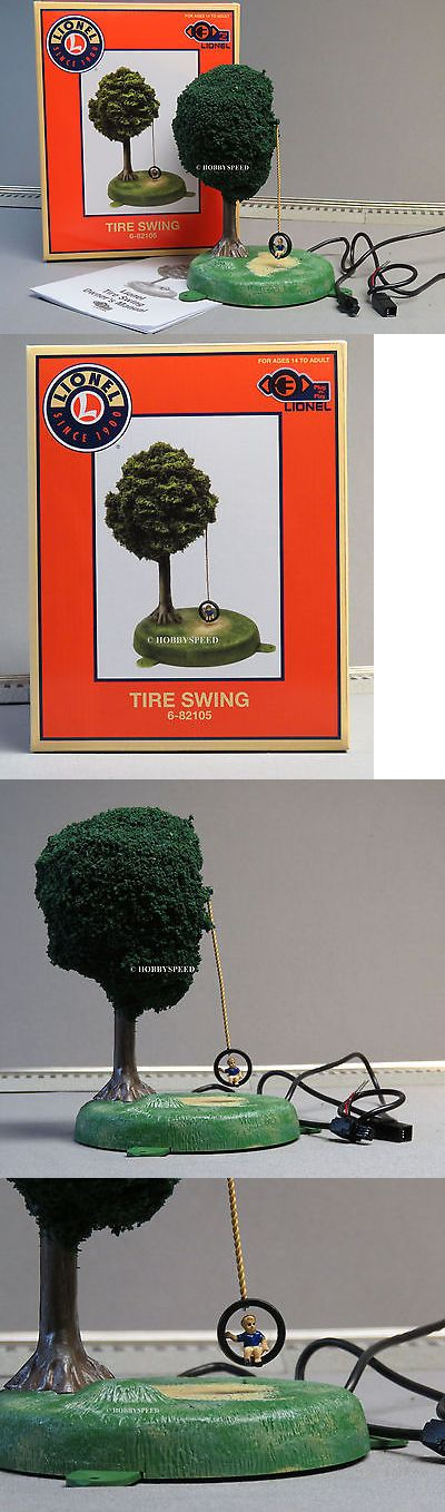 Buildings Tunnels and Bridges 99807: Lionel Plug-N-Play Tire Swing O Gauge Train Plugandplay Tree Ground 6-82105 New -> BUY IT NOW ONLY: $94.84 on eBay!