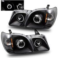 Cheap SPPC Projector Headlights Black (CCFL Halo) For Lexus Lx470 - (Pair) sale