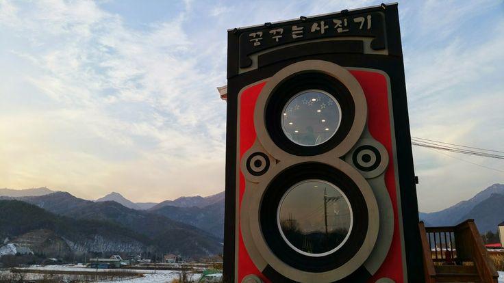 [세계 카페 25곳중 하나인 한국 양평의 꿈꾸는 사진기(dreamy camera cafe) 방문기]