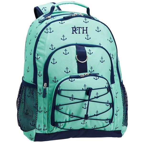 PB Teen Gear-Up Pool Anchor Backpack ($50) ❤ liked on Polyvore featuring bags, backpacks, blue backpack, day pack backpack, print backpacks, polka dot backpack and padded laptop backpack