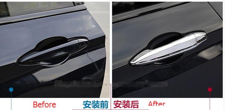 Дешевое Хром ручки автомобиля крышки планки для BMW X5 F15 2014 2015, Купить Качество Хромовая отделка непосредственно из китайских фирмах-поставщиках:              Подходит для BMW X5 F15 2014-2015 только              Описание товара:         Состояние: 100% новый