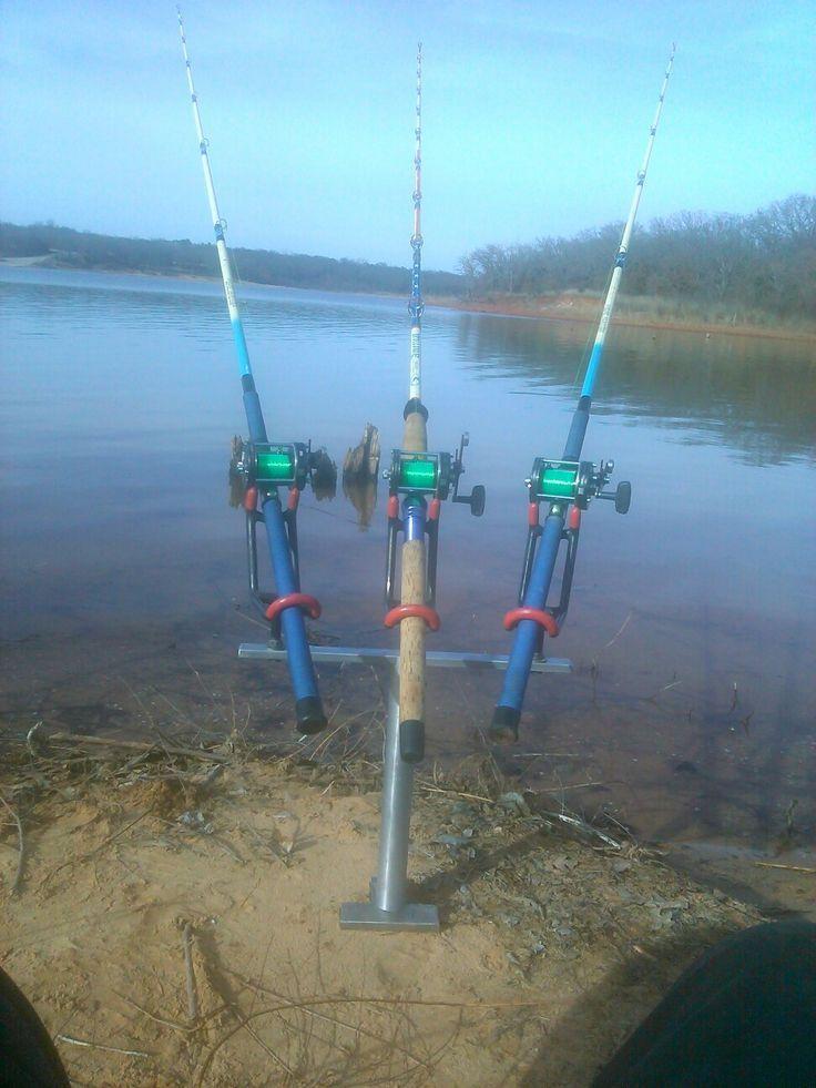 22 best rod holder images on pinterest fishing stuff for Boat fishing rods