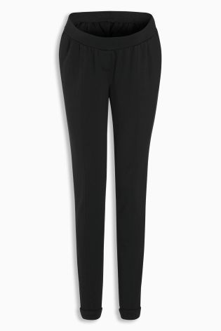 Buy Black Maternity Ponte Skinny Trousers online today at Next: New Zealand