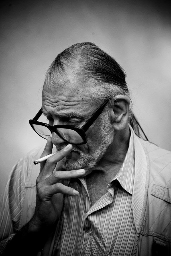 George A. Romero ... The father of zombie movies.