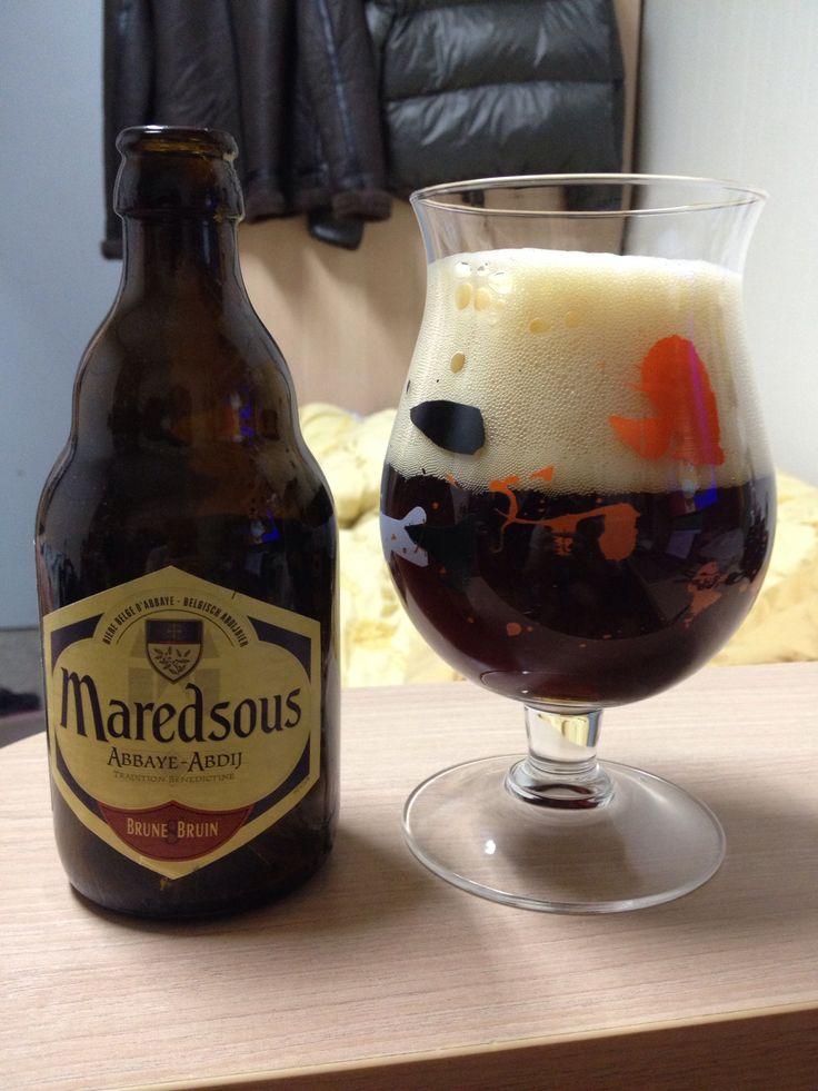 벨기에 마레드수스 8 브린. 묵직하고 향이 개성있어 산뜻한 듀벨과는 또 다른 매력.