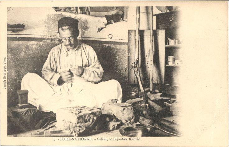 100 photos de l'Algérie trés ancienne ! | Pressealgerie.fr - Presse Algerie | Salem, le Bijoutier Kabyle