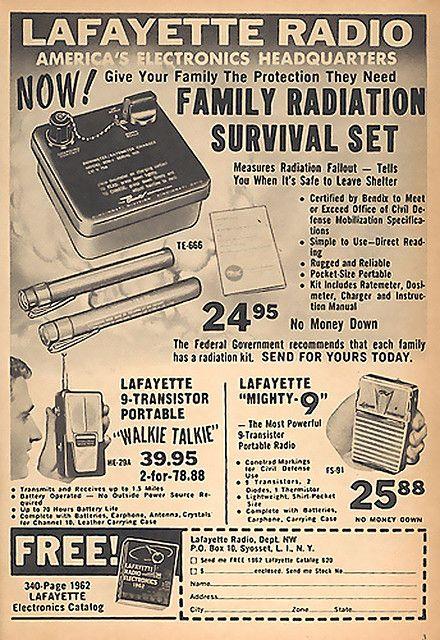 Family Radiation Survival Set