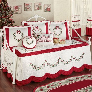 305 Best Images About Christmas Bedrooms On Pinterest