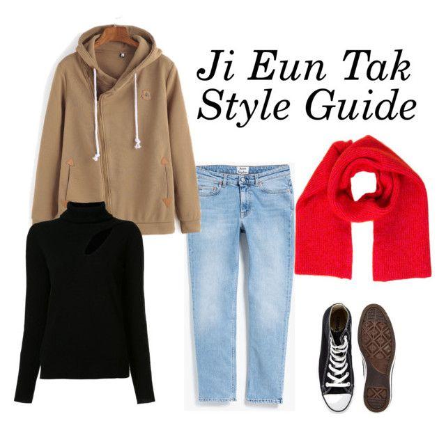 Ji Eun Tak - Goblin by engraciaargh on Polyvore featuring A.L.C., Acne Studios, Converse and CÉLINE