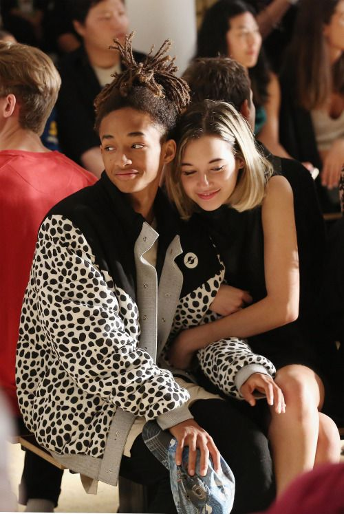 Jaden Smith & Sarah Snyder - Front Row at Gypsy Sport, Spring 2016 RTW