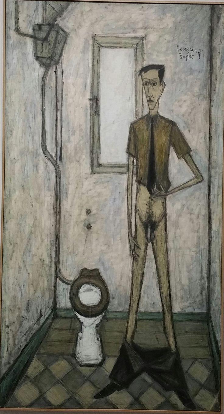 1947_L'homme au cabinet_Paris coll fonds de dotation Bernard Buffet
