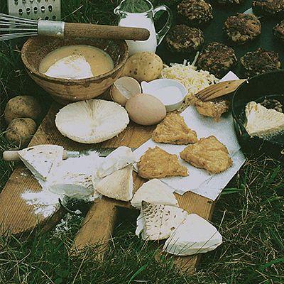 Parasol Mushroom Fritters, Roger's Recipe from Roger's Mushrooms. #mushroomrecipe #wildfood l  http://www.rogersmushrooms.com