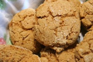Hot Kamut Flour Biscuits, with a Sprinkle of Coarse Salt