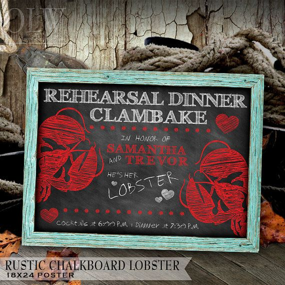Rustic Chalkboard 18x24 poster  With or Without by OddLotEmporium