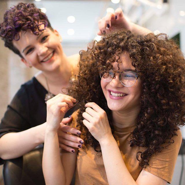 Devachan Salon Curly Hair Salon Nyc Devacurl Curly Hair Styles Curly Hair Salon Nyc Hair Salon