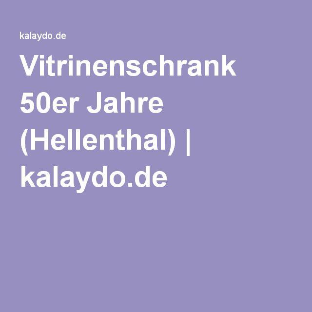 Vitrinenschrank 50er Jahre Hellenthal