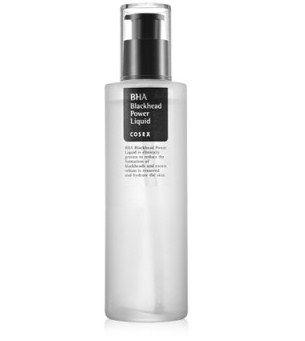BHA Blackhead Power Liquid de COSRX (traite, prévientimperfections et points noirs grâce à sa formule exfoliante à l'acide salicylique)