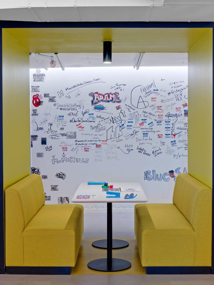 locaux entreprise LinkedIn originaux NYC