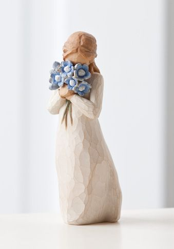Forget-me-knot: Susan Lordi, Gift, Trees Angel, Willow Tree Figurines, Trees Forget, Willowtre, Forget Me Not, Willow Trees Figurines, Forgetmenot