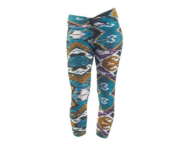 Liquido Active - Bow Crop Aztec - Bottoms All of these pants are crazy, yet awesome!