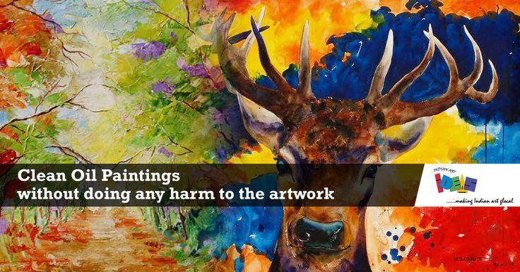 So Reinigen Sie Olgemalde Ohne Das Kunstwerk Zu Beschadigen Kunstwerke Malen Olgemalde Ideen