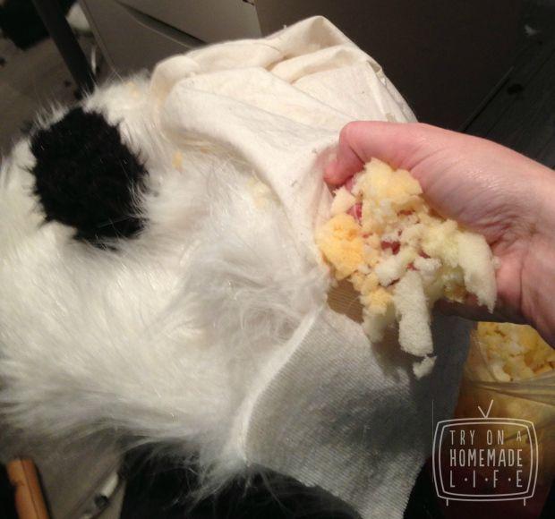 Stuffed Panda Hood