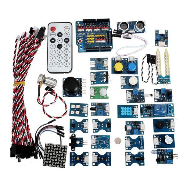 Kit del módulo del sensor 30Pcs con el protector de Arduino R3 para Arduino