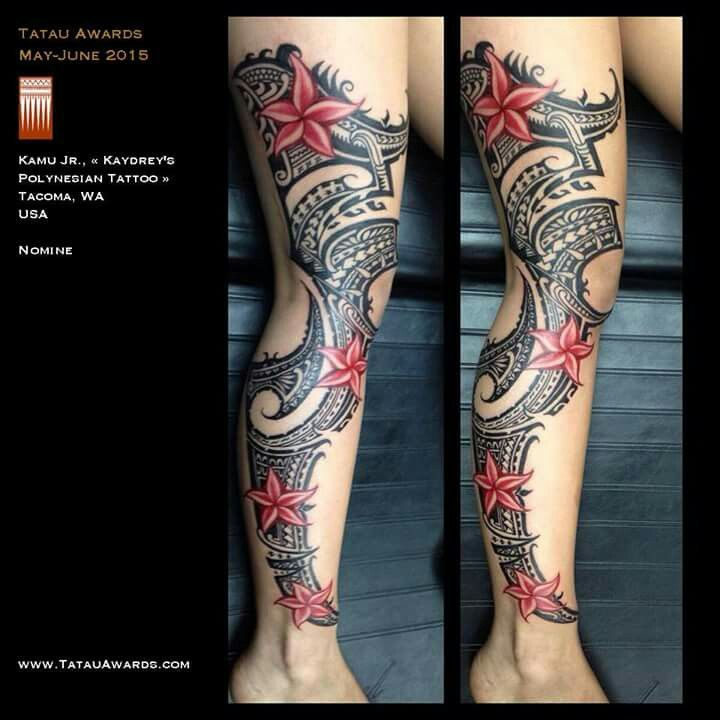 231 best images about tatoos on pinterest samoan tattoo for Polynesian thigh tattoo