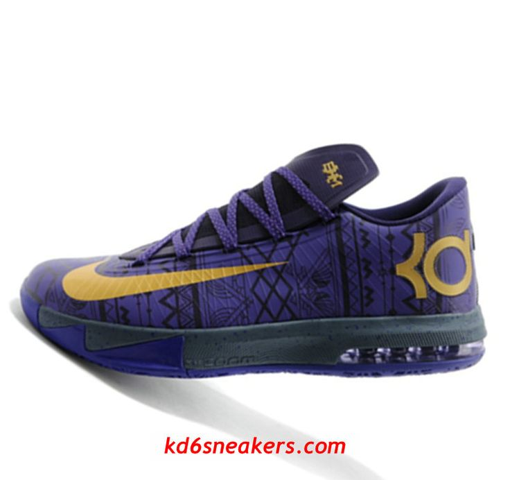 Nike KD VI 6 BHM Kevin Durant Basketball shoes #KD