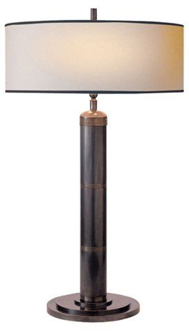 Longacre Tall Table Lamp, Bronze - Visual Comfort & Co. - Brands   One Kings Lane