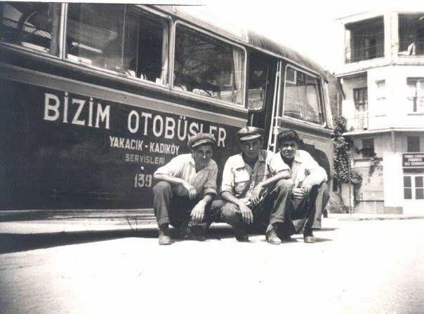 """""""Bizim Otobüsler"""" Yakacık -Kadıköy servisleri."""