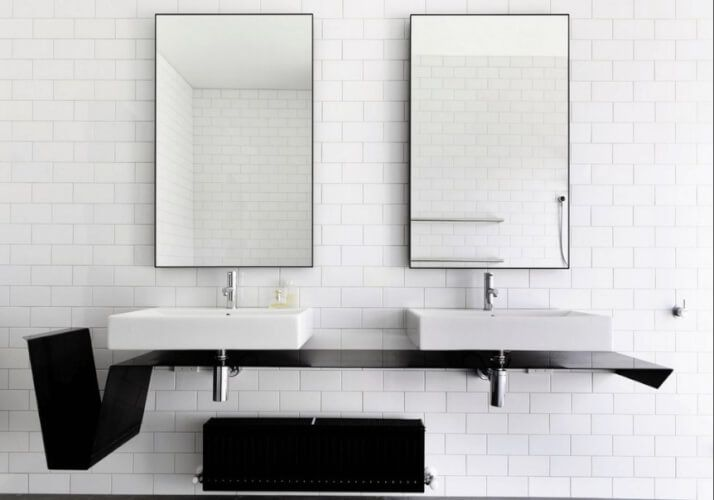 25+ Best Ideas About Framed Bathroom Mirrors On Pinterest